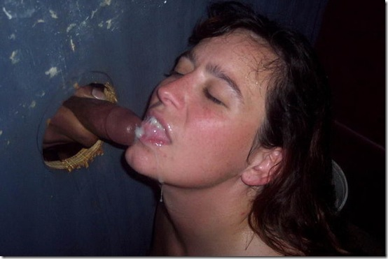 gloryhole facial